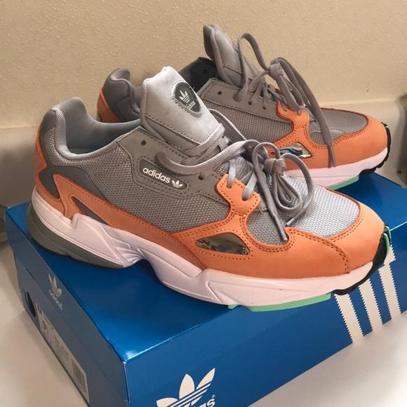 Adidas Falcon Lite Granite Easy Orange